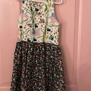 Matilda Jane platinum girls dress size 10 NWOT